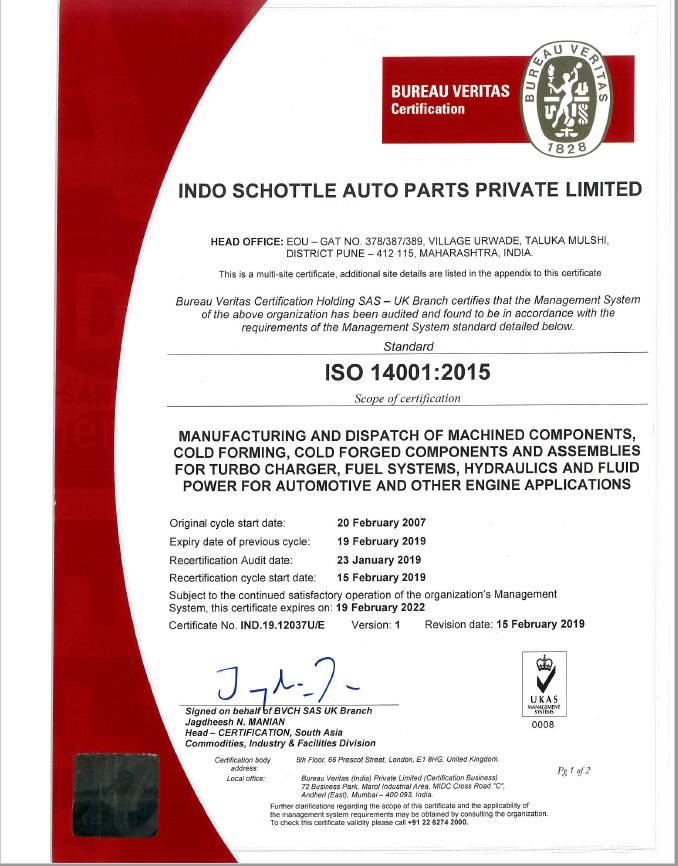 Indo Schöttle's Certifications